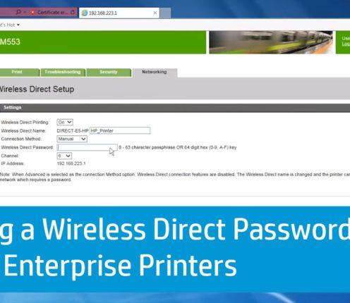 hp dj2600 printer password