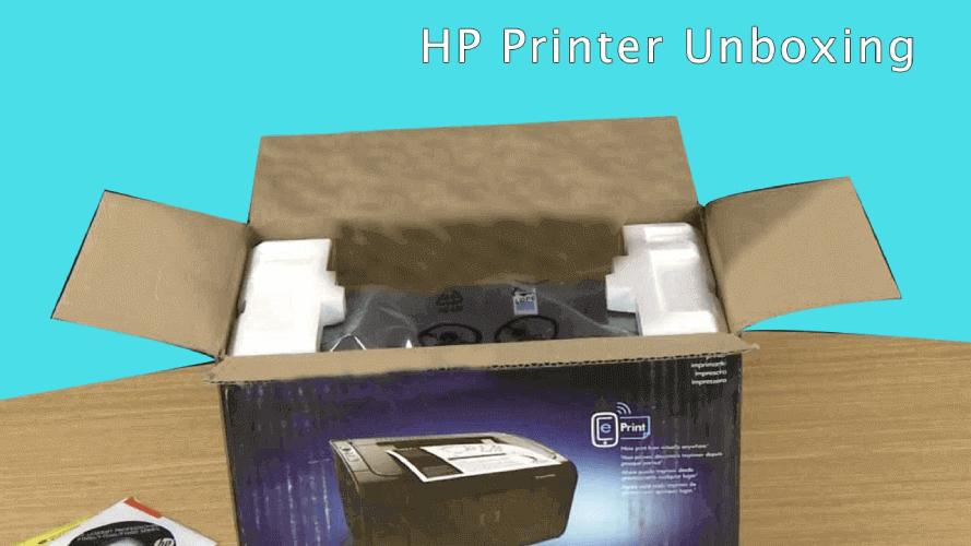 123.hp.com/dj-1050-Printer-Unboxing
